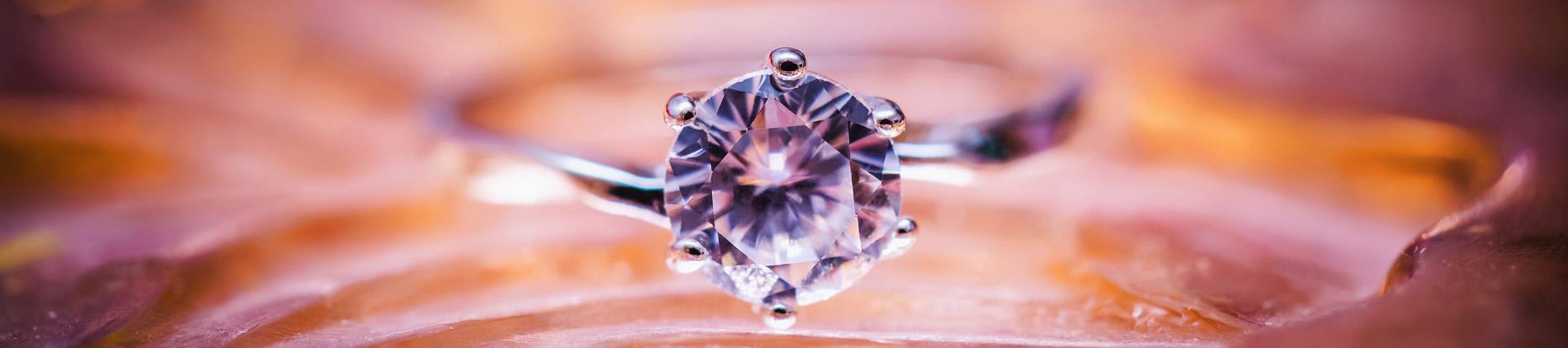 diamante anello